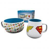 DC Comics Logos Breakfast Set
