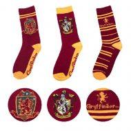 Harry Potter – Gryffindor Socks Set of 3 (EU 37 to 46)