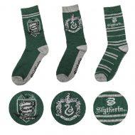 Harry Potter – Slytherin Socks Set of 3 (EU 37 to 46)