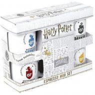 Harry Potter Quidditch Espresso Mug Set