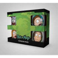 Rick And Morty Characters Espresso Mug Set