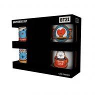 BT21 Icons Espresso Mug Set