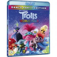 Trolls World Tour með íslensku tali (Blu-ray)
