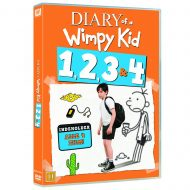 Diary of a Wimpy Kid 1-4 Box DVD