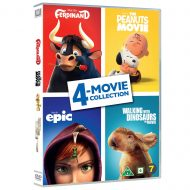 Ferdinand / Peanuts Movie / Epic / Walking with Dinosaurs 4-Movie Collection DVD