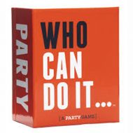 Who Can Do it Card Game