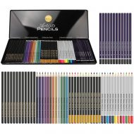 Artists Pencils: 60 mismunandi blýantar