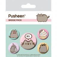 Pusheen Pusheen Says Hi Badge Pack
