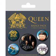 Queen Classic Badge Pack