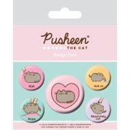 Pusheen Nah Badge Pack