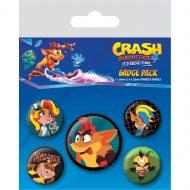 Crash Bandicoot 4 Badgy Badge Pack