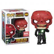 Zombie Red Skull Pop! Vinyl Figure