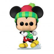 Holiday Mickey on skates Pop! Vinyl Figure