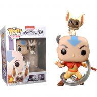 Avatar: The Last Airbender Aang with Momo Pop! Vinyl