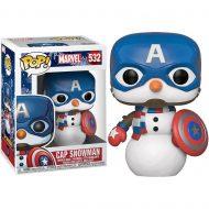 Marvel Holiday Captain America Pop! Vinyl Figure