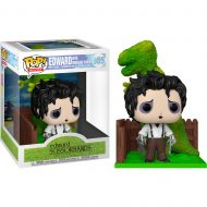 Edward Scissorhands and Dino Hedge Deluxe Pop! Vinyl