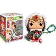 DC Holiday Wonder Woman with Lights Lasso Pop! Vinyl Figure