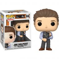 The Office Jim with Nonsense Sign Pop! Vinyl Figure