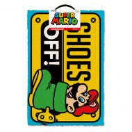 Super Mario Shoes Off Colour Doormat