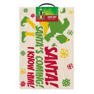 Elf Santas Coming Doormat