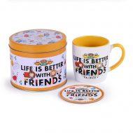 Friends Life Is Better – Chibi Mug Tin Set
