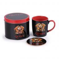Queen Logo Mug Tin Set