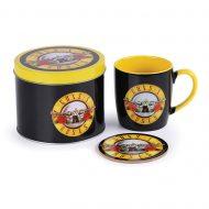 Guns N Roses Bullet Logo Mug Tin Set