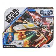 Star Wars Mission Fleet Stellar Class Vehicles – Luke Skywalker X-Wing
