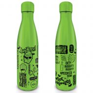 Rick And Morty Quotes Metal Drink Bottle