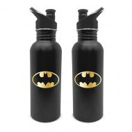 Batman Logo Metal Canteen Bottle
