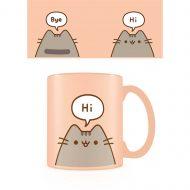 Pusheen Hello Goodbye color Mug