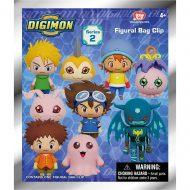Digimon Series 2 Foam Bag Clip