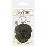 Harry Potter Hogwarts Crest Metal Keychain