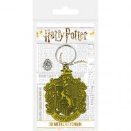 Harry Potter Hufflepuff Crest Metal Keychain