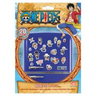 One Piece Chibi Magnet Set
