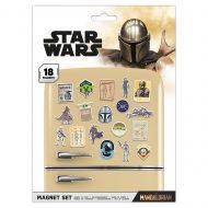 Star Wars: The Mandalorian Bounty Hunter Magnet Set