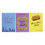 Friends Set of 3 Notebooks