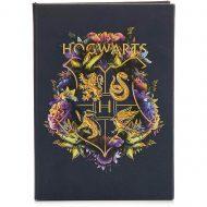 Hogwarts Floral Notebook