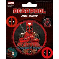 Deadpool Stick This Stickers