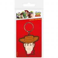 Toy Story Woody Rubber Keychain