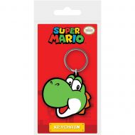 Super Mario Yoshi Rubber Keychain