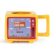 Super Mario Bros Like A Boss Retro Tv Heat Change Mug