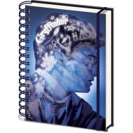 HARRY POTTER (MAGIC PORTRAIT) 3D NOTEBOOK