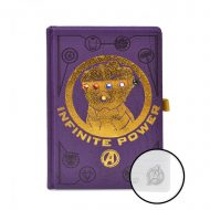 AVENGERS INFINITY WAR (GAUNTLET) LIGHT UP A5 NOTEBOOK