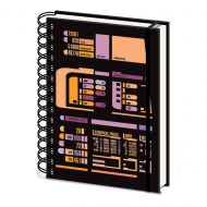 Star Trek Tng Control Panel A5 Notebook