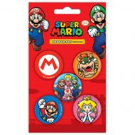 Super Mario Mario Eraser Set