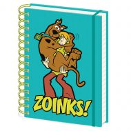 Scooby Doo Zoinks A5 Notebook