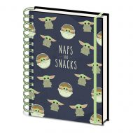 Star Wars: The Mandalorian Naps and Snacks A5 Wiro Notebook