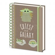 Star Wars: The Mandalorian Cutest In The Galaxy A5 Notebook