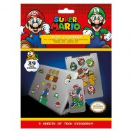 Super Mario Mushroom Kingdom Tech Stickers